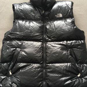Men's North Face 700 puffer vest Sz L